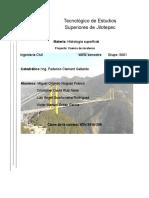 Protecto de Cuenca Zacatecaas Hidrologia Superficial Copia
