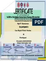 Sertifikat ASH Case Report Sigit P Kurniawan