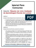 2. Resumo Avaliação Da Aprendizagem Luckesi