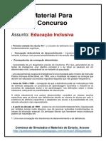 4. Educação Inclusiva Concurso