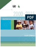 DESARROLLO DEL MILENIO EN EL PERÚ REGIÓN CAJAMARCA