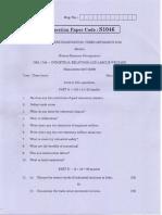 Anna Univ Q Paper