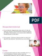 Discapacidad Intelectual Presentacion