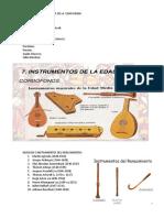 Musicos e Instrumentos de La Edad Media