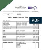 6.19.2018 Metal Framing and Durawall