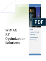 WL WiMAX RF Optimization Solut