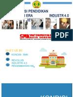 Transformasi SMK Di Era Revolusi Industri 4.0