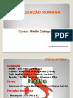 Hist. 7 - Civilização Romana