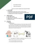 A Lesson Plan in Grammar