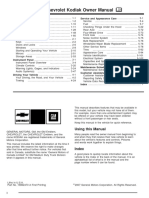 2008 Chevrolet Kodiak Manual en CA en Horas