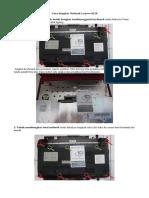 Cara Bongkar Netbook Lenovo S110