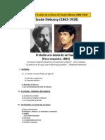 Preludio a La Siesta de Un Fauno de Claude Debussy
