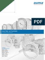 Auma - Katalog Techn Unterlagen Antriebe En
