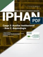 #Apostila IPHAN - Auxiliar Institucional - Arquivologia (2018) - Novas Concursos (1).pdf