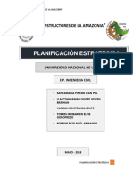Planificación Estrategica - Constructora
