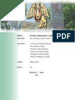 Informe Erosion Sedimentacion y Calidad de Agua