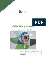 Caida Libre y Rebotes 20151