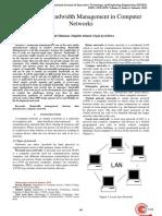 Journal Bandwith Management