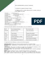 Ejercicios de Vocabulario.latin i y Griego i