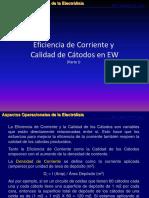 Curso Electrólisis Operadores Parte IV (Calidad y Eficiencia)