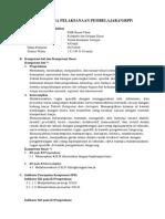 RPP Komputer Dan Jaringan Kelas X SMK KD 3.1 - K3LH
