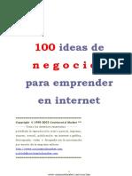 100 Ideas De Negocios Para Emprender En Internet.pdf