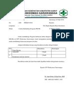 Surat Usulan PIS PK