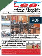Periódico Lea Miércoles 25 de Julio Del 2018