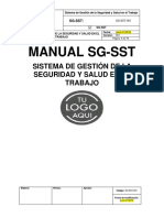 SG-SST-001 Sistema de Gestión de La Seguridad y Salud en El Trabajo