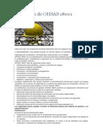 Beneficios de OHSAS 18001