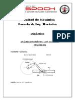 Mecanismos Con Métodos Numéricos