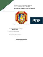 Teoría y Técnicas de Las Relaciones Públicas i