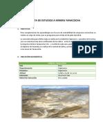 Informe Vista Yanacocha