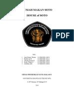 Proposal Usaha KWU - House of Soto