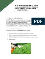 Biofertilizantes en La Agricultura