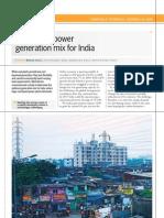 Optimal Power Mix India