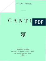 Oyuela, Calixto - Cantos de Leopardi