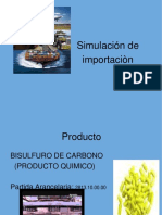 Simulacion de Importacion