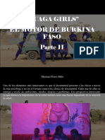 Mariana Flores Melo - Ouaga Girls, El Motor de Burkina Faso, Parte II