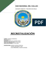 INFORME 4 - Recristalizacion