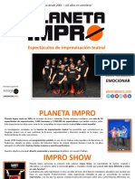 Planeta Impro - Dossier de Ventas_ES