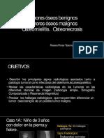 Diagnostico Por Imagen Tumores Oseos y Oteomielitis