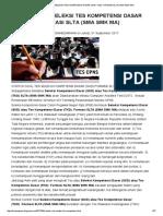 Contoh Soal Seleksi Tes Kompetensi Dasar (Skd-tkd) Formasi Slta (Sma Smk Ma) _ Pendidikan Kewarganegaraan