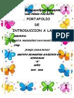 Portafolio Segundoparcial in Web Maria Sanmartin