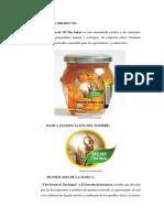 demanda de mermelada de aguaymanto internacional