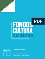 Fondart Regional Resultados 2018