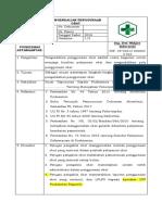 8.2.1.1 Sop Pengendalian Pengunaan Obat
