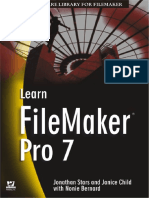 [Wordware Library for FileMaker] Jonathan Stars - Learn FileMaker Pro 7 (2004, Wordware Pub)