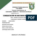 INFORME DE SALIDA DE CAMPO GRUPO N° 02