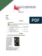 Written Test Juniors II